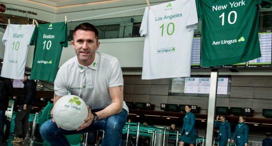 Aer Lingus Robbie Keane