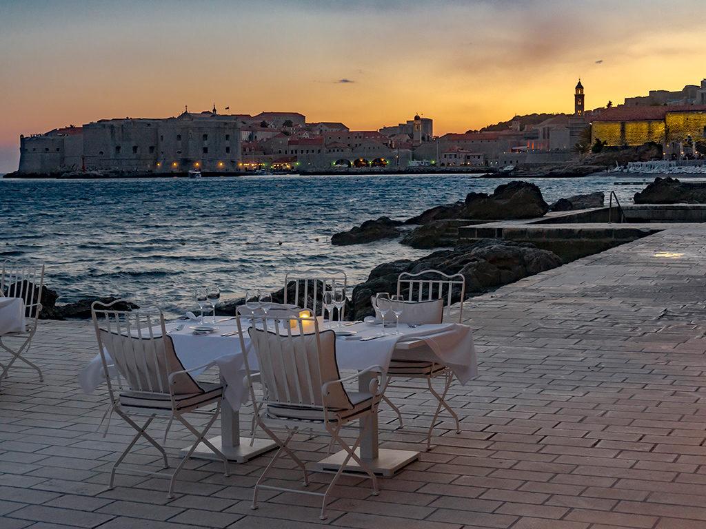 Dubrovnik outdoor eating