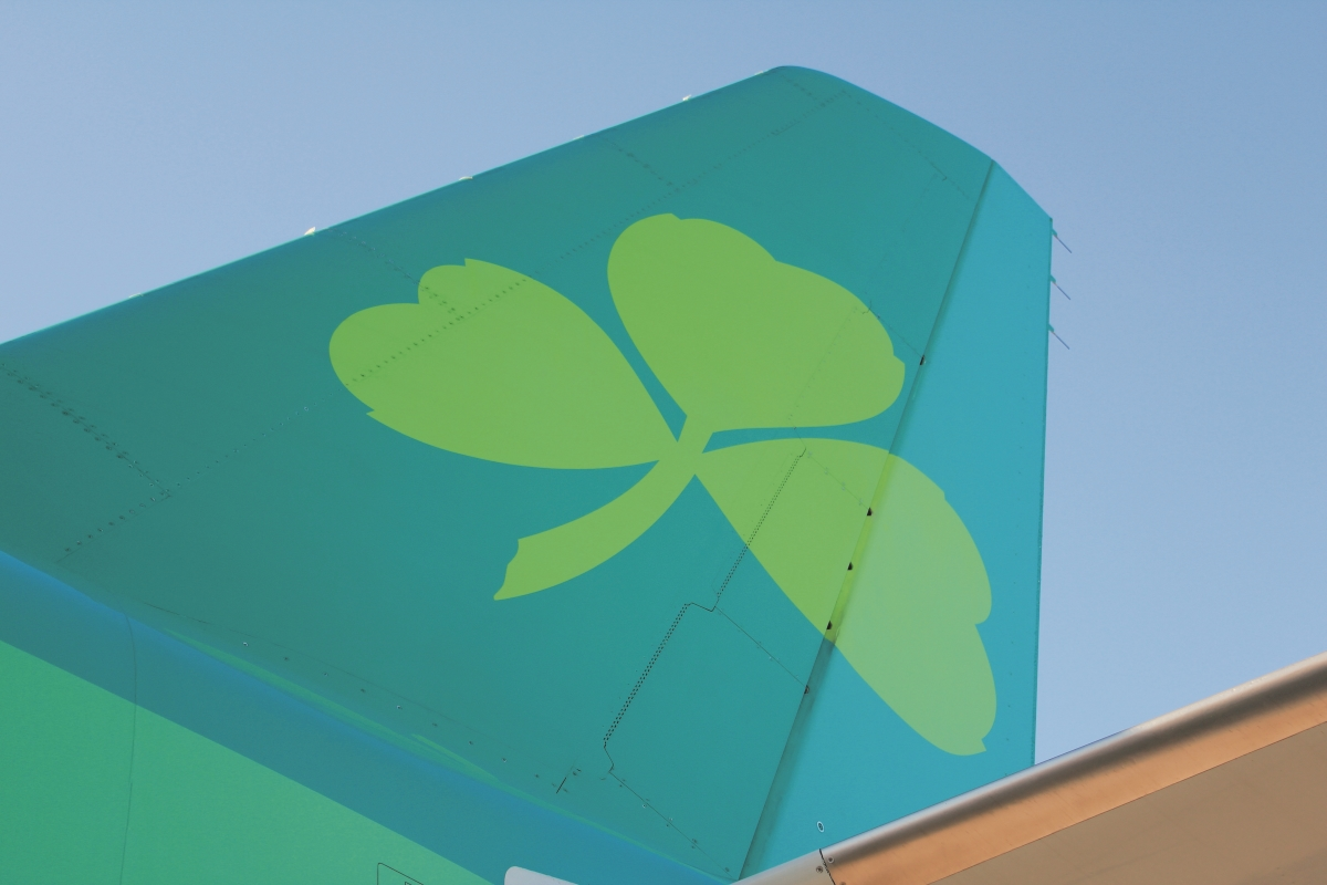 Aer Lingus tailfin