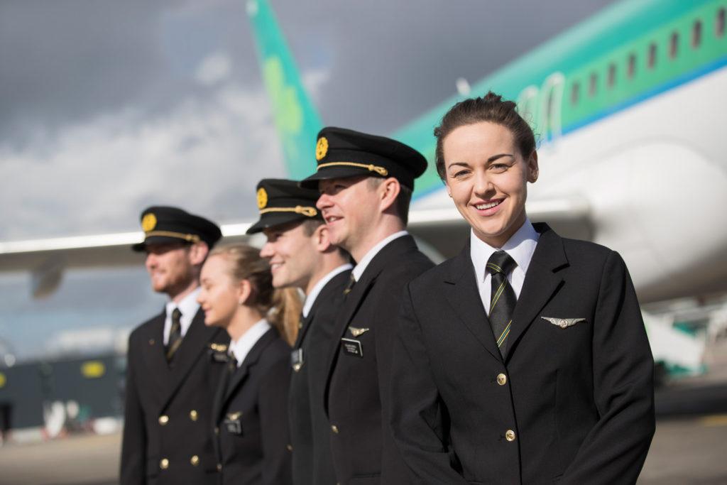 Aer Lingus Female Pilot