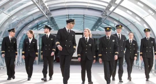 Aer Lingus Pilots Dublin Airport