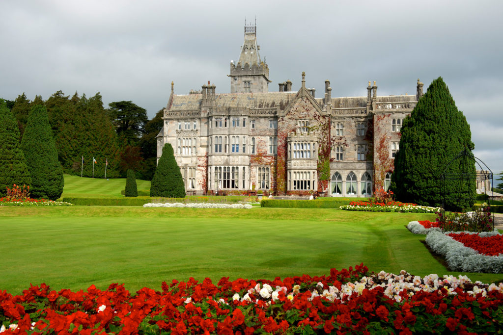 Adare Manor and garden