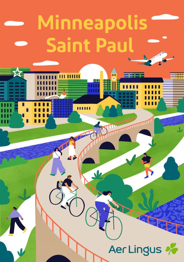 Minneapolis-Saint Paul Poster