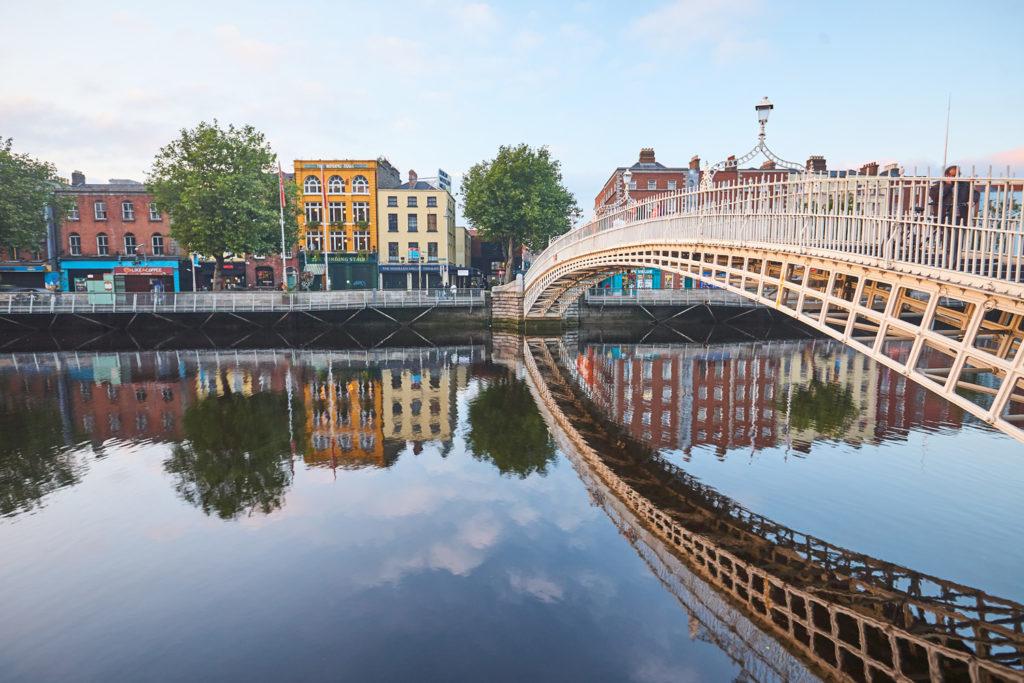 Dublin Liffey Ha'penny Bridge