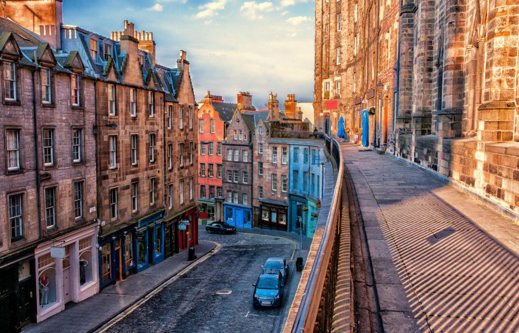 West Bow, Edinburgh, Scotland
