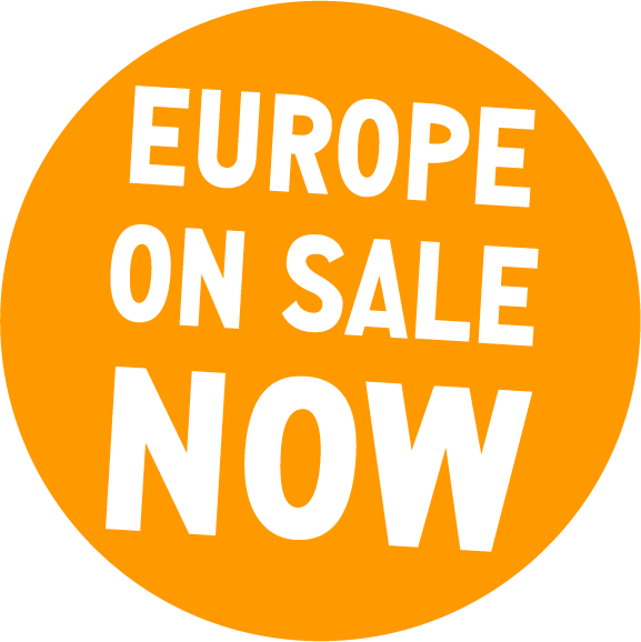 Europe on sale now