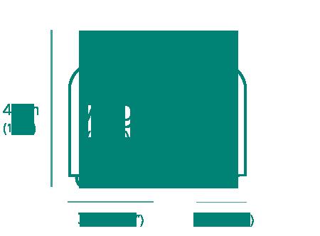 bagage de 7kg. 48cm x 33cm x 20cm