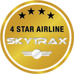 Skytrax 4-Star rating
