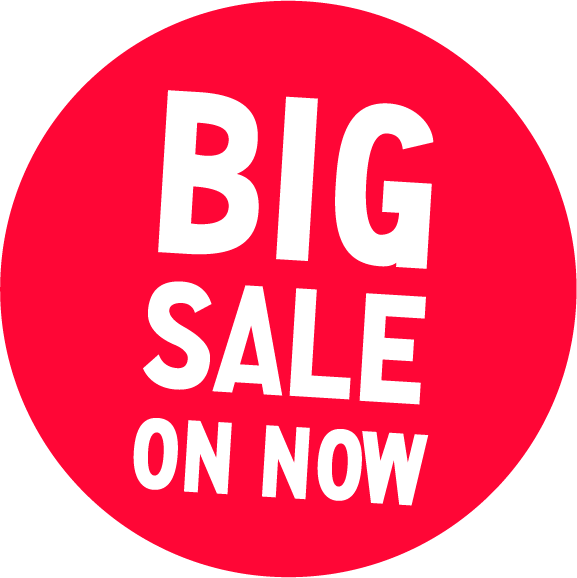 Big Sale On Now