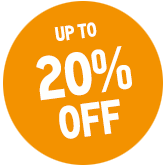 UP TO 20% OFF